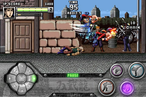 Double Dragon iPhone