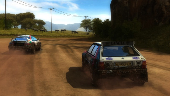 Sega Rally Online Launch Announcement screenshot