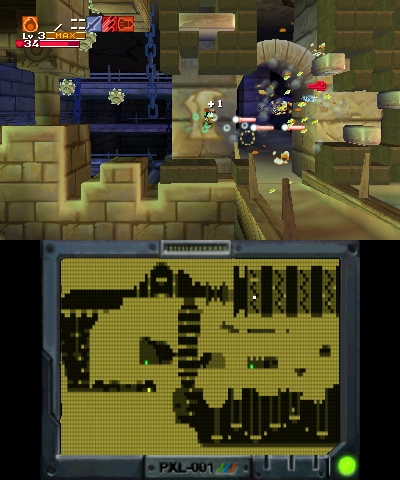 Cave Story 3D (3DS) New Release Date, June Screenshots screenshot 1