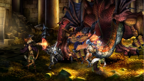 Dragons Crown Announcement screenshot 1