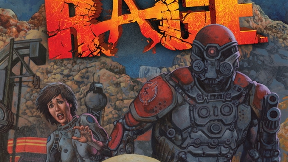 Rage Issue One (Comic) Launch Announcement header
