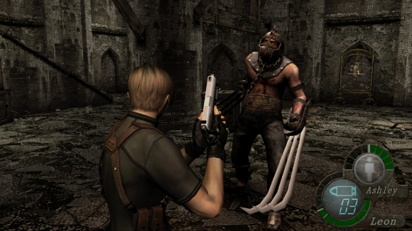 Resident Evil 4 (360, PS3) HD Release Date Announcement - Screenshot 2