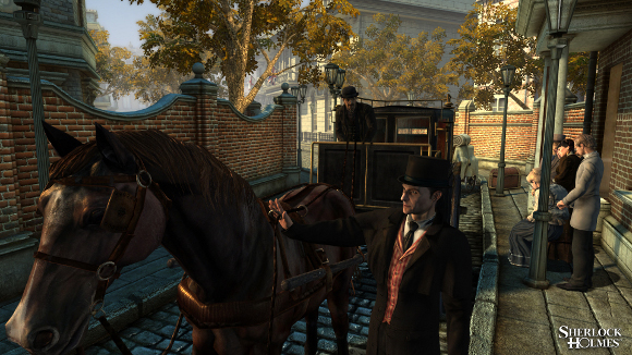 The Testament of Sherlock Holmes (360, PC, PS3) July Screens screenshot 3