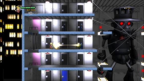 Elevator Action Deluxe (PS3) Launch Announcement - Screenshot 1