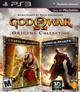 God of War: Origins Collection (PS3) Box
