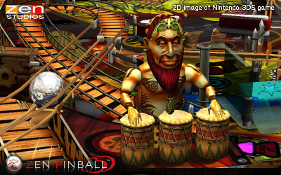 Zen Pinball 3D (3DS) Announcement - Header