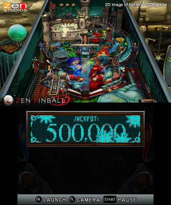Zen Pinball 3D (3DS) Announcement - Screenshot 2