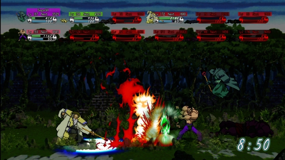 Guardian Heroes (360, Saturn) Launch Announcement - Screenshot 3