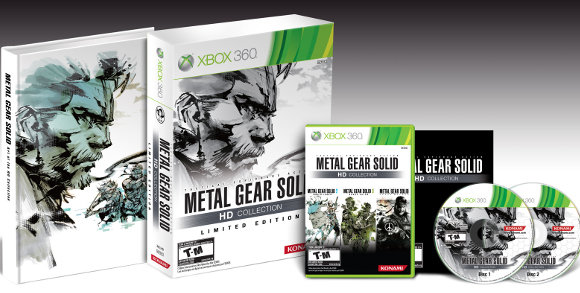 Metal Gear Solid HD Collection (360, PS3) LE Announcement - Set