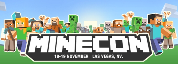 Minecraft (360, PC) 360 MineCon Announcement - Header
