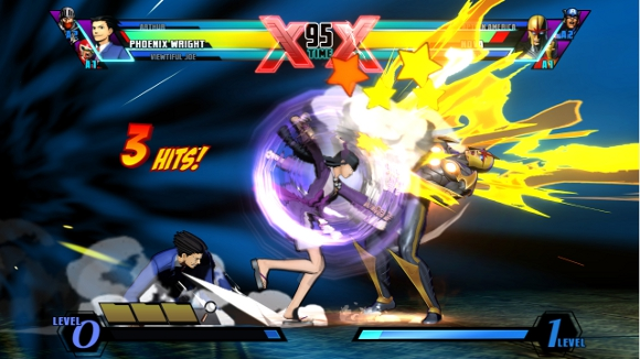Ultimate Marvel vs Capcom 3 (360, PS3, Vita) Wright and Nova Announcement - Screenshot 3