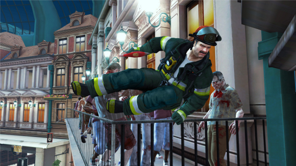 Dead Rising 2 Off The Record (360, PC, PS3) Firefighter Skills Pack DLC Launch Announcement - Screenshot 1
