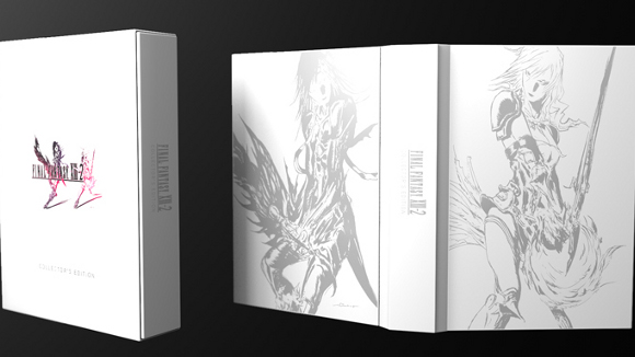 Final Fantasy XIII-2 (360, PS3) CE Announcement - Header