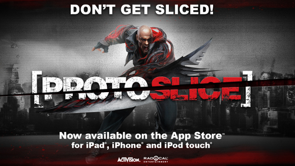 ProtoSlice (iPad, iPhone, iPod touch) iOS App Launch Announcment - Header