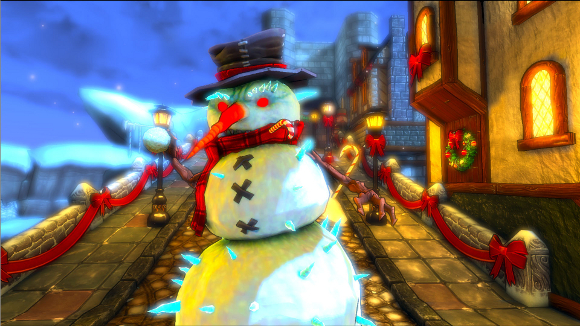 Dungeon Defenders (360, PC, PS3) Etherian Holiday Extravaganza DLC Launch Announcement - Screenshot 3