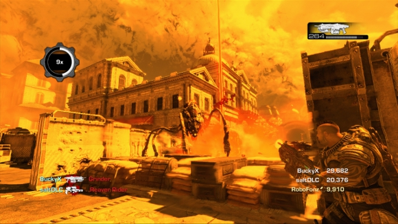 Gears of War 3 (360) RAAM's Shadow DLC Launch Announcement - Screenshot 1