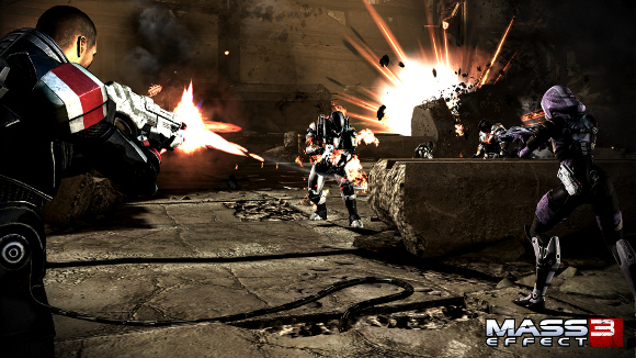 Mass Effect 3 (360, PC, PS3) 360 PC PS3 Demo Announcement - Screenshot 2