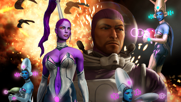 Saints Row The Third (360, PC, PS3) Gangstas in Space - Header