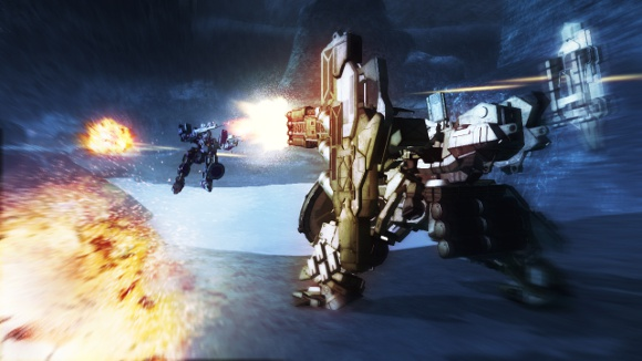 Armored Core V (360, PS3) Launch Announcement - Screenshot 4
