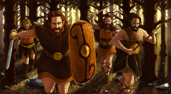 EntDepot (Interview) Longbow Games - Hegemony: Caesar - Germans