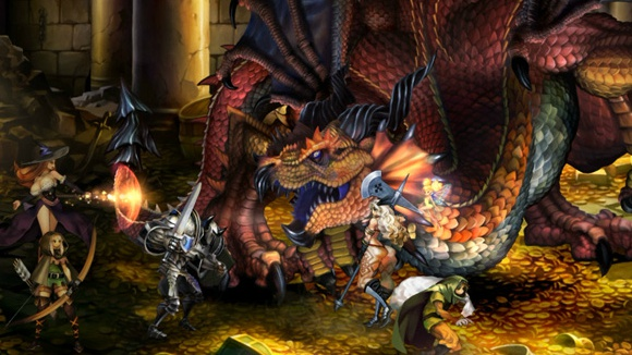 Dragon's Crown (PS3, PSVita) Atlus Pub Announcement - Screenshot 2