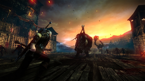 The Witcher 2: Assassins of Kings (360, PC) 360 Launch Announcement - Screenshot 3