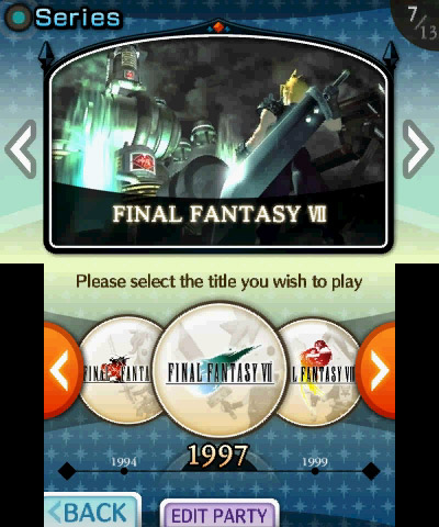 Theatrhythm Final Fantasy (3DS) Preorder Bonus Announcement - Screenshot 3