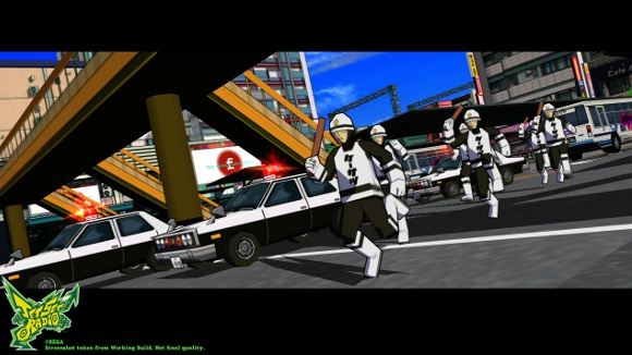 Jet Set Radio (360, PC, PS3, Vita) Vita Announcement - Screenshot 2