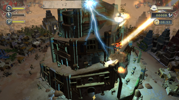 Babel Rising (360, PS3) Launch Announcement - Screenshot 1