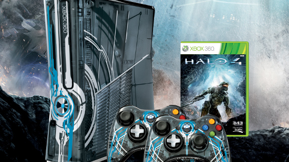 Halo 4 (360) Xbox 360 LE Bundle Announcement - Header