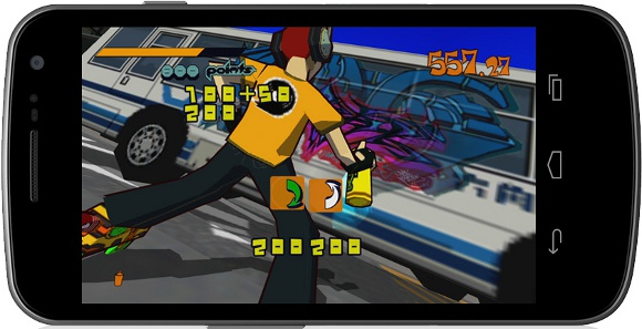 Jet Set Radio (360, Android, iOS, PS3, PS Vita) Mobile Announcement - Screenshot 4
