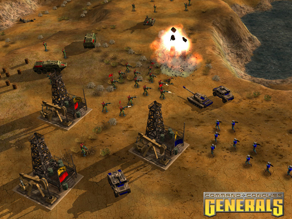 Command & Conquer The Ultimate Collection (PC) Announcement - Screenshot 3 Generals