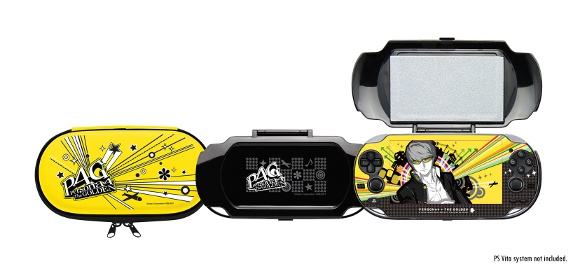 Persona 4 Golden (PS Vita) Solid Gold Premium Edition Announcement - Hori Goods
