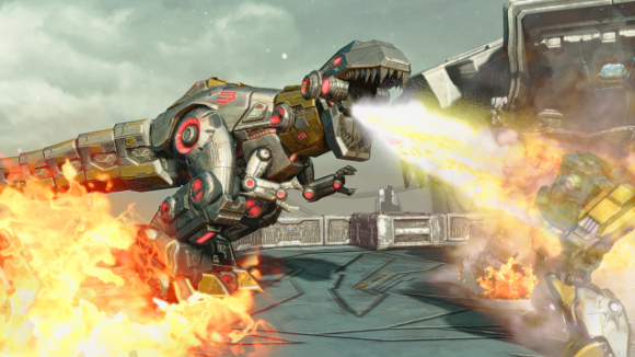 Transformers: Fall of Cybertron (360, PC, PS3) Dinobot DLC Launch Announcement - Screenshot 1