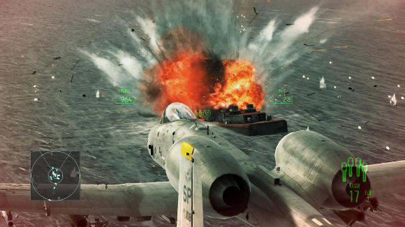 Ace Combat Assault Horizon (360, PC, PS3) Enhanced Edition PC Announcement - Screenshot 1