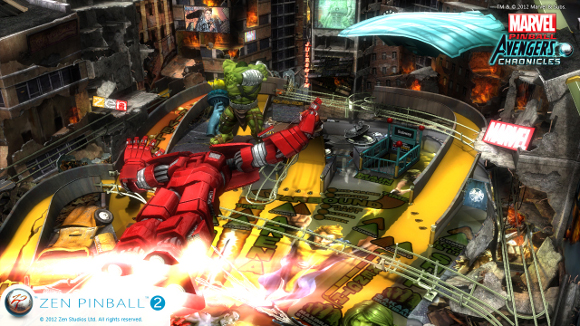 Zen Pinball 2 (PC, PS3, Wii U) Announcement - Screenshot 1