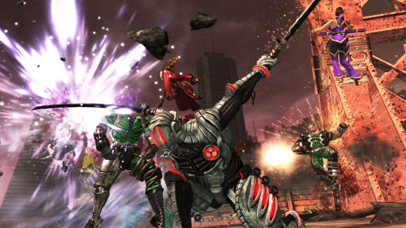 Anarchy Reigns (360, PS3) Launch Announcement - Screenshot 4