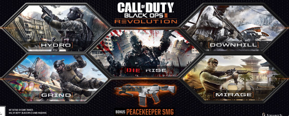 Call of Duty Black Ops II (360, PC, PS3) Revolution DLC Pack Announcementment - Art