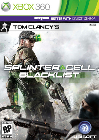 Tom Clancy's Splinter Cell Blacklist (360, PC, PS3) Jan Trailer and Screenshot Announcement - Box