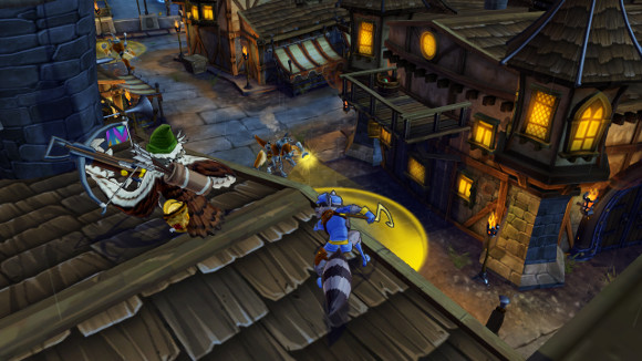 Sly Cooper Thieves in Time (PS3, PS Vita) Launch Announcement - Screenshot 2