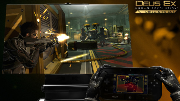 Deus Ex: Human Revolution Directors Cut (Wii U) Announcement - Screenshot 1