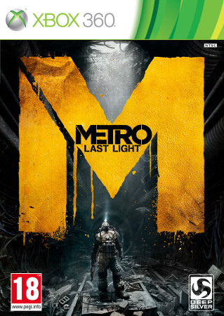 Metro: Last Light (360, PC, PS3) Release Date Announcement - Box Full