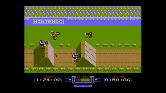 Excite Bike (NES, Wii, Wii U) Wii U Virtual Console Launch - Screenshot 2s