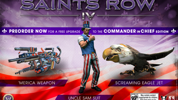 Saints Row IV (360, PC, PS3) Preorder Announcement - Art 1s