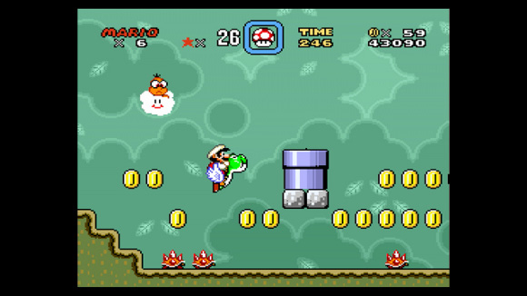 Super Mario World (SNES, Wii, Wii U) Wii U Virtual Console Launch - Screenshot 1s