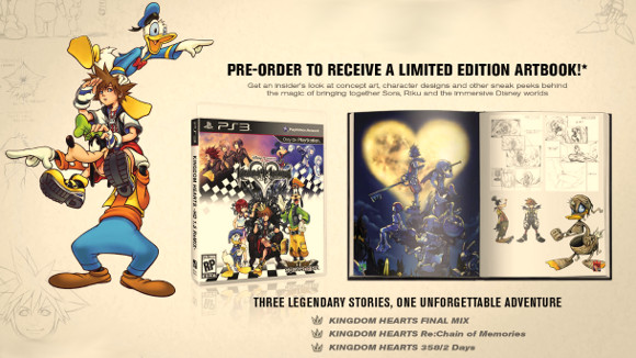 Kingdom Hearts HD 1.5 Remix (PS3) Preorder Announcement - Header