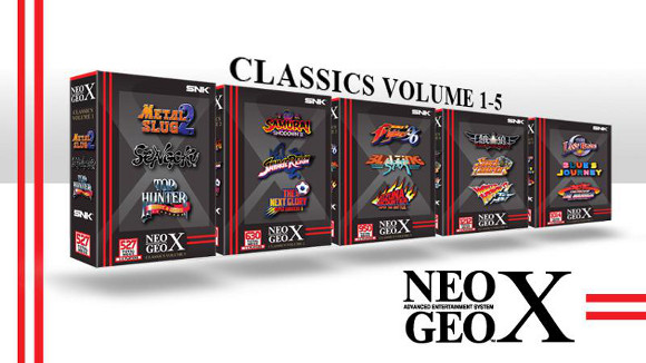 NeoGeo X Gold Limit Edition (NeoGeo X) Classic Volumes and Mega Pack Release Date Announcement - Volumes