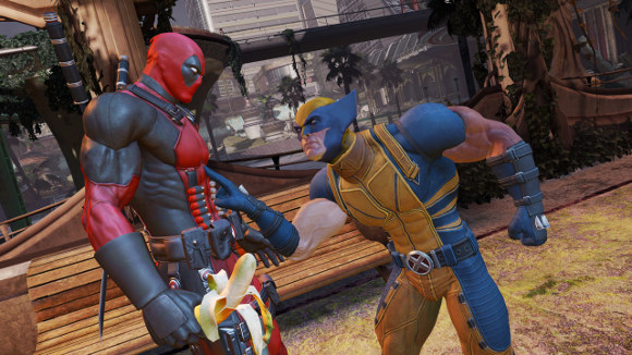 Deadpool (360, PC, PS3) Launch Announcement - Screenshot 1
