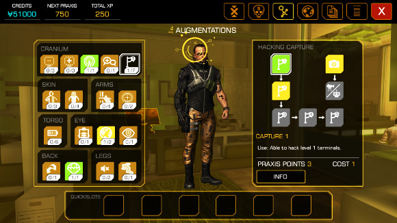 Deus Ex: The Fall (Android, iOS) Announcement - Screenshot 2