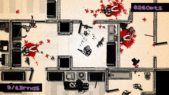 Hotline Miami (PC, PS3, PS Vita) PSN Launch Announcement - Screenshot 1